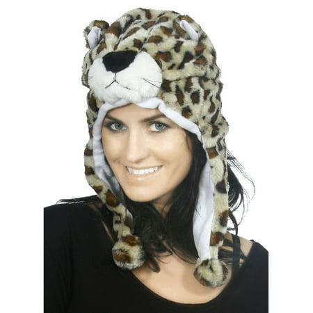 Cute Animal Hats For Women Girls Warm Winter Plush Fluffy Unisex Aviator Hat -