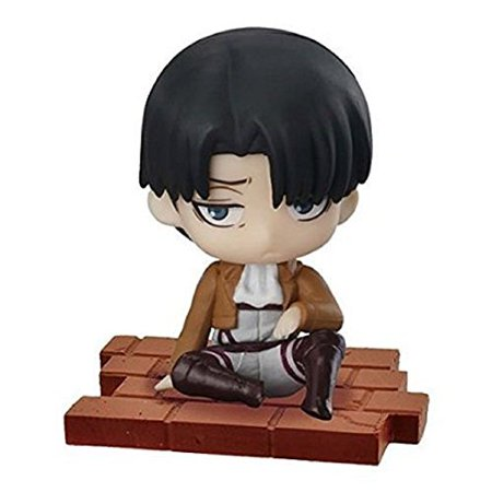 Attack On Titan Jacket Male (Attack on Titan Suwarasetai Sitting Mini Figure Collection - Levi)
