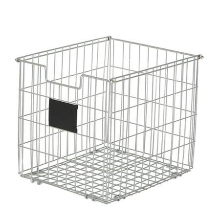 Better Homes Gardens Wire Storage Bin Silver