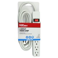 Hyper Tough 6-outlet 8ft Power Strip