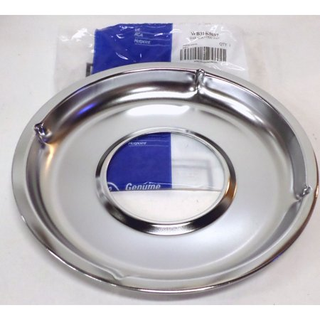 Wb31k5037 Genuine Ge Gas Range Aeration Drip Pan Chrome