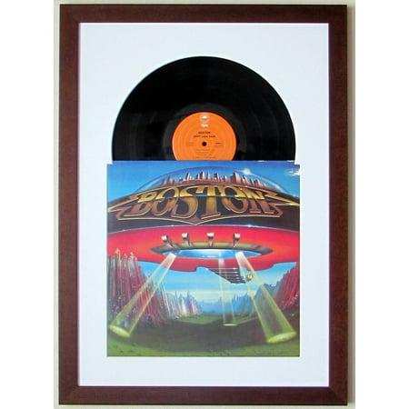 Record Album LP Frame Display Featuring White Matting