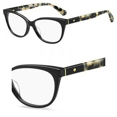 6dc721956e Eyeglasses Kate Spade Karlee 0WR7 Black Havana - Walmart.com