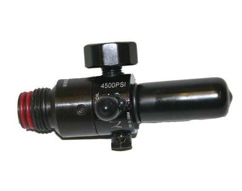 Ninja 4500 PSI STD HPA Regulator for High Pressure Air Nitrogen Paintball Tanks by