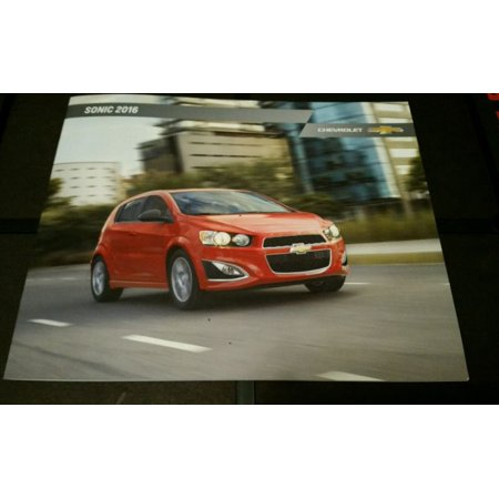 - 2016 Chevy Sonic 24-page Original Sales Brochure