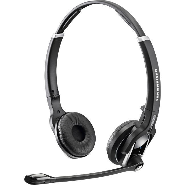 Sennheiser SD Pro 2 Headset - Stereo - Wireless - DECT 6.0 - 150 Hz - 6.80 kHz - Over-the-head - Binaural - Supra-aural - Noise Cancelling Microphone