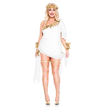 Plus Size Goddess Beauty Costume (Snow White Costume Plus Size)