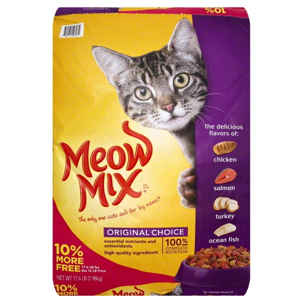 Meow Mix Original Choice, 17.6 lb
