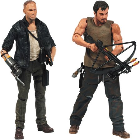 McFarlane Toys The Walking Dead TV Series 4 The Dixon Brothers 2-Pack Action Figures (Universal)