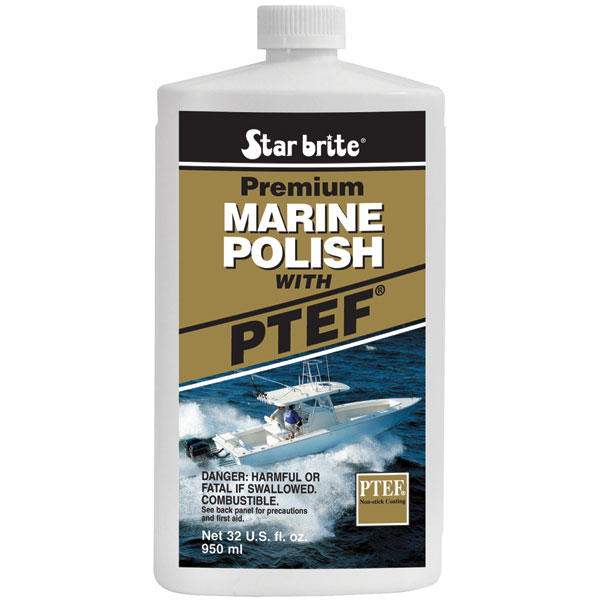 Star Brite 085732 32 oz Premium Marine Polish with PTEF