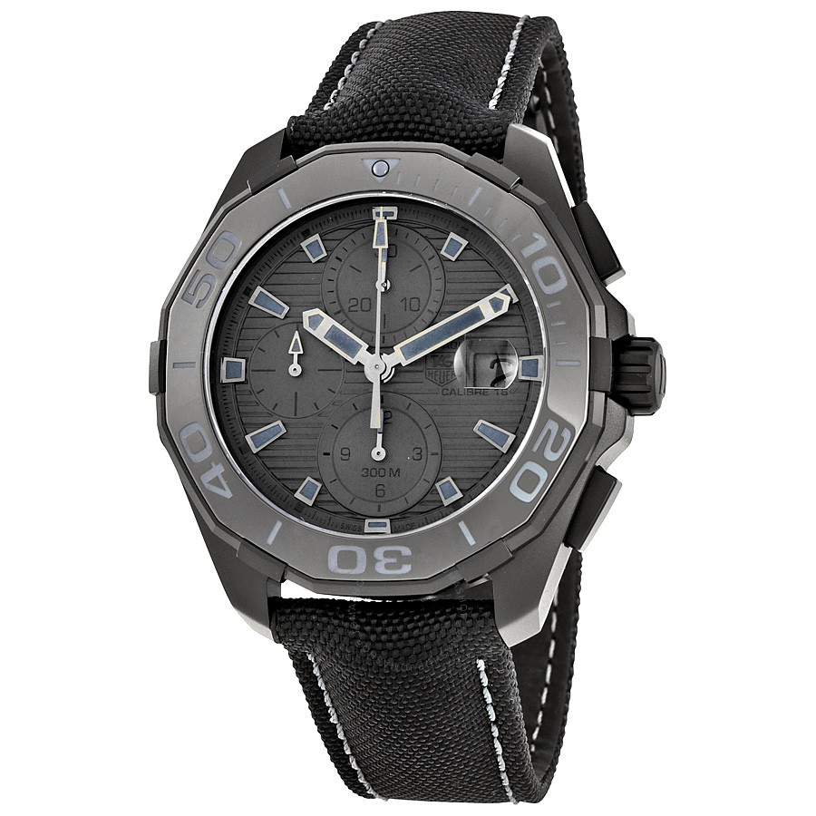 Tag Heuer Aquaracer Automatic Black Dial Mens Watch CAY21...