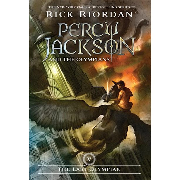 Percy Jackson and the Olympians, Book Five The Last Olympian ...