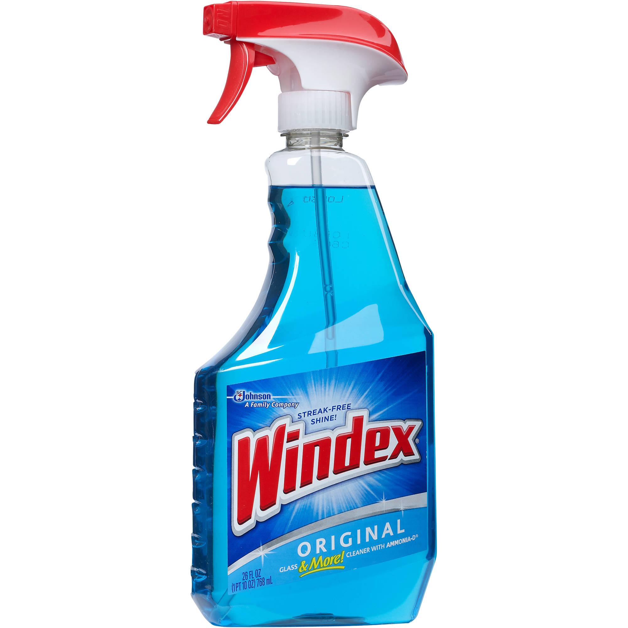 Windex Original Glass Cleaner, 26 fl oz - Walmart.com
