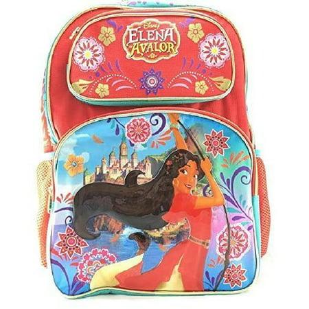"Disney Princess Elena Of Avalor 16"" Girls School Backpack-07767 - image 1 of 1"