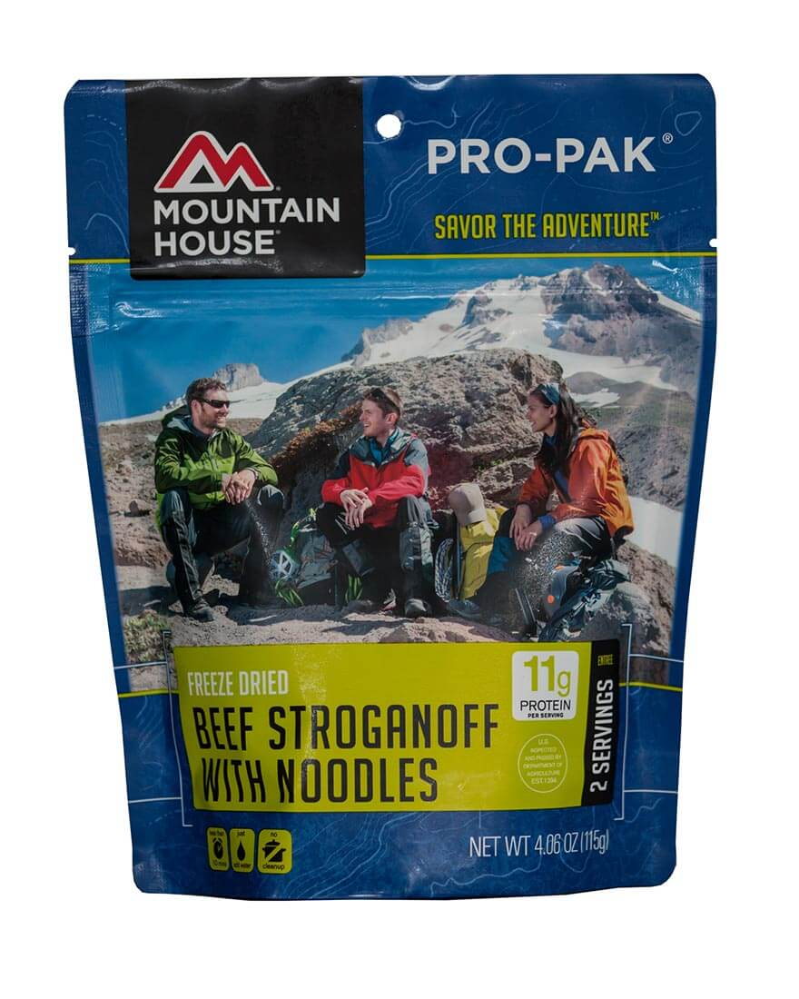 Mountain House (6 Pack) Beef Stroganoff Pro-Pak by Mountain House
