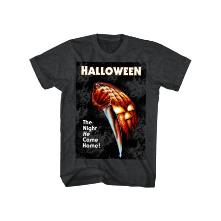 Top 20 Scary Halloween Movies (Halloween Scary Horror Slasher Movie Film Night He Came Home Adult T-Shirt)