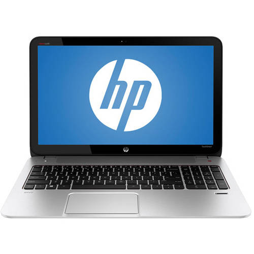 "HP Refurbished Natural Silver 15.6"" ENVY TouchSmart 15-j009wm Laptop PC with AMD Elite Quad-Core A8-5550M Accelerated Processor, 8GB Memory, 750GB Hard Drive, touch screen and Windows 8"