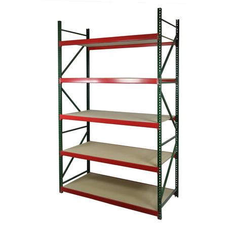 Storage Max Archive Bulk Rack, 72 x 36 x 96 Double Deep Shelving 36in Deep Racks