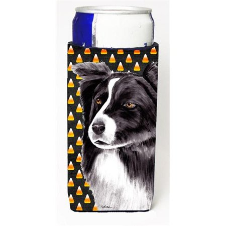 Border Collie Candy Corn Halloween Portrait Michelob Ultra s For Slim Cans - 12 oz.](Border Halloween)
