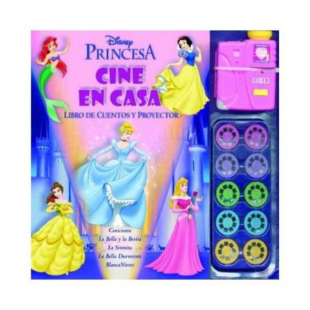 Princesas / Princesses: Cine En Casa. Libro De Cuentos Y Proyector / Home Theater. Story book and projector