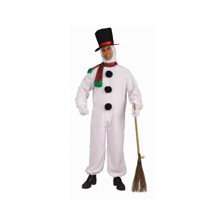 PLUSH SNOWMAN COSTUME (Abominable Snowman Adult Costume)