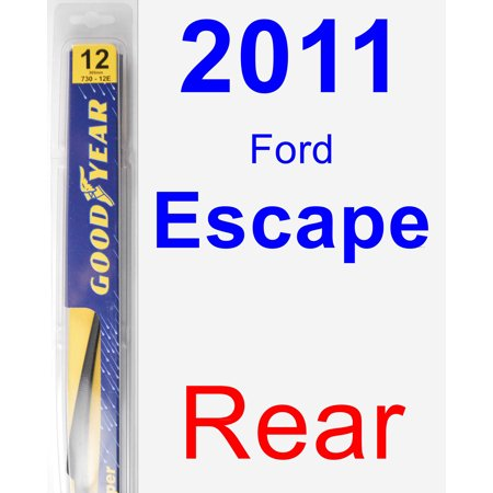 (2011 Ford Escape Rear Wiper Blade - Rear)