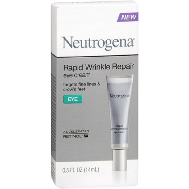 Neutrogena Rapid Wrinkle Repair Eye Cream 0 50 Oz Walmart Com Walmart Com