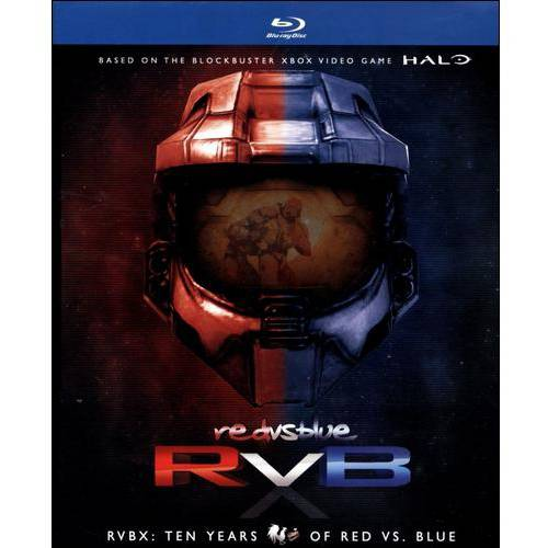 Red Vs. Blue: RVBX - Ten Years Of Red Vs. Blue (Blu-ray)