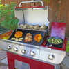 Cuisinart Four Burner Gas Grill with Dual Fuel Valves