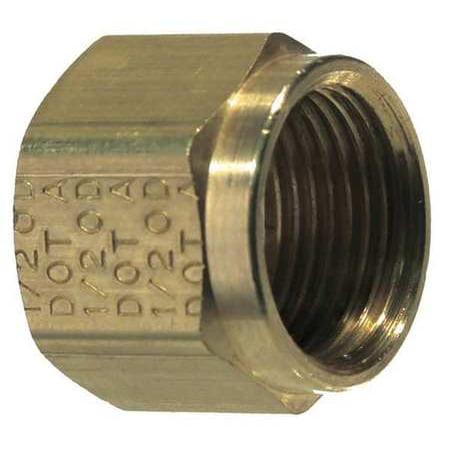 CMI 961-6 Tube Nut, Compression, Brass
