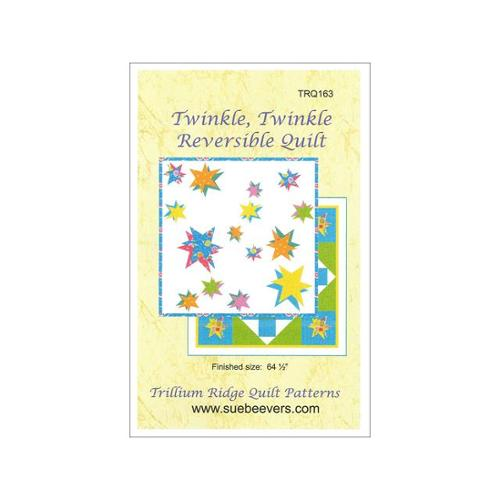 Quilt Woman Twinkle Twinkle Reversible Quilt Ptrn