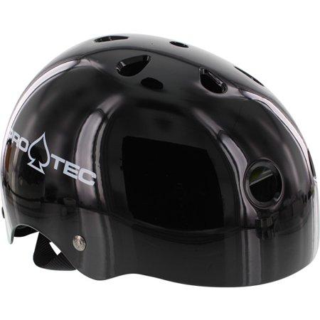 PRO-TEC Classic 2-Stage Liner Black Skateboard Helmet - Small / 20.6