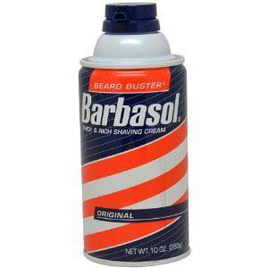 Barbasol Beard Buster Shaving Cream, Thick & Rich, Original - 10 oz. (Pack of