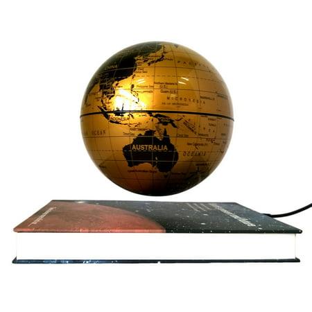 6 Magnetic Rotating Globe Anti Gravity Floating Levitating Earth 360 Degree For