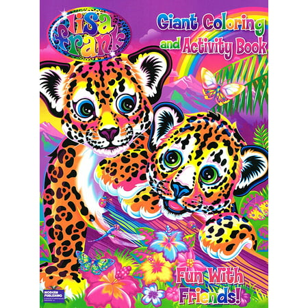 Coloring Books 2 Asstd96 Pgs Lisa Frank And Activity Book Set