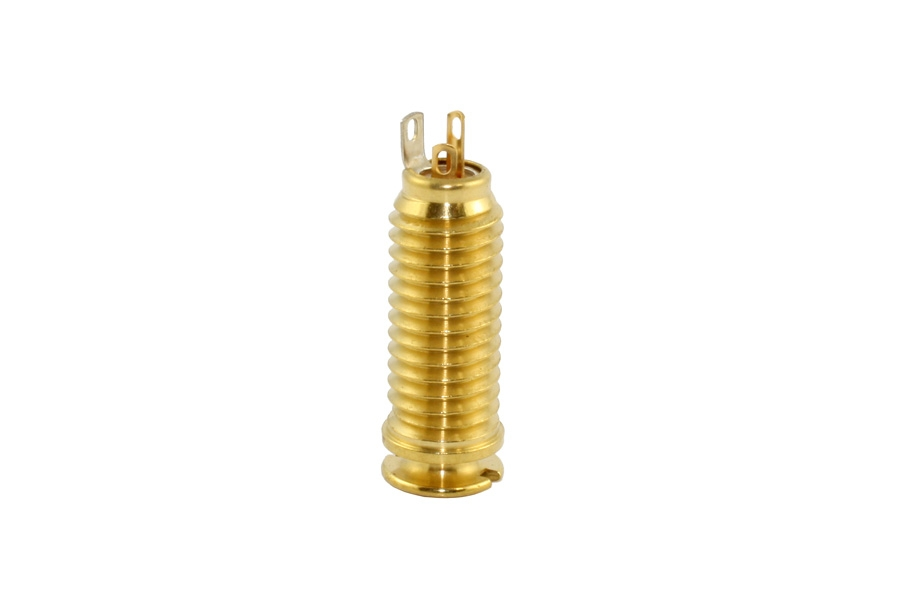 Switchcraft Acoustic Gold End Pin Jack by AllParts