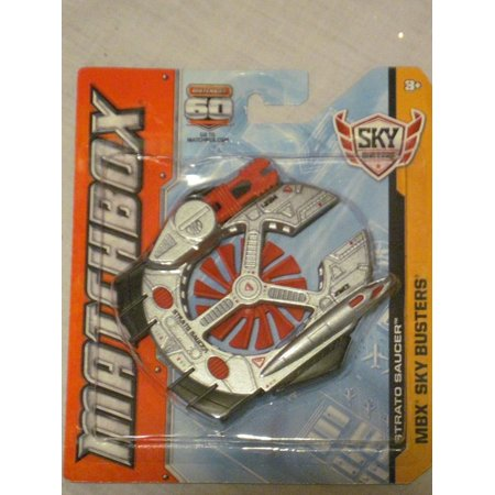 - MATCHBOX - MBX Sky Busters - Strato Saucer Aircraft - '60th Anniversary Edition