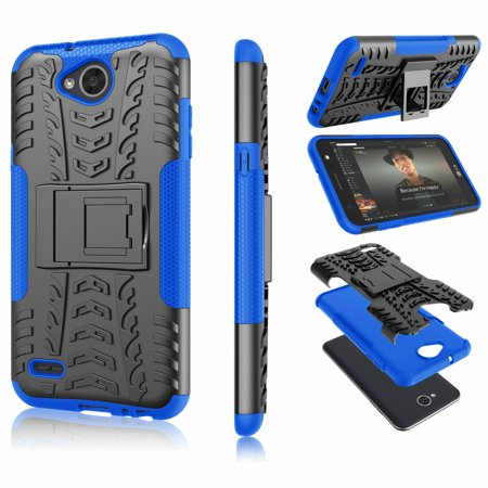 brand new 7b354 88437 Tekcoo Phone Cases For LG X Power 2 / LG X Charge / LG Fiesta 2 / LG Fiesta  LTE / LG LV7 LG M320F / SP320 / M327, Shock Absorbing Defender Heavy Full  ...
