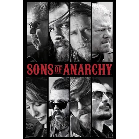 Anarchy Motorcycle Club (Sons of Anarchy Samcro Cast Motorcycle Club FX TV Show Poster 24x36 Poster - 24x36 inch )