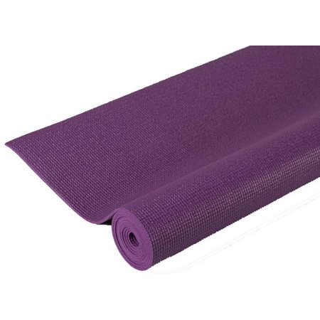 Extra Thick Non-Slip Pilates Yoga Mat in Purple (72 in. W