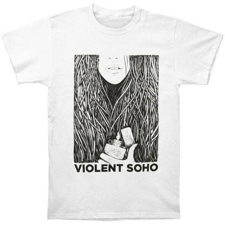 28688e4e0 Violent Soho - Violent Soho Men's Saramona Said T-shirt White - Walmart.com