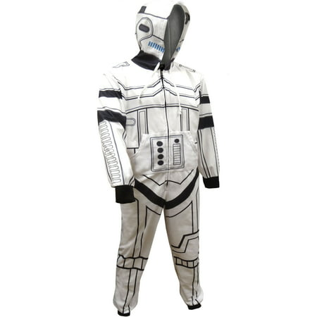 Star Wars Look Like A Storm Trooper Hooded Union Suit Pajama](Star Wars Suit)
