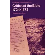 Critics of the Bible 1724-1873