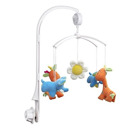 Nuolux Baby Crib Mobile Music Box Holder With Wind Up Music Boxnot