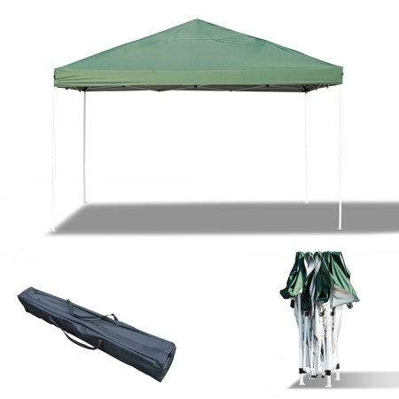 13x13ft Easy up Tent Outdoor Sun Shelter with Carrying Bag Green - image 4 de 7