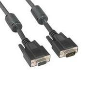 Eagle Electronics 180466 25Ft Super Shield SVGA Male to Female Cable with Ferrite Core