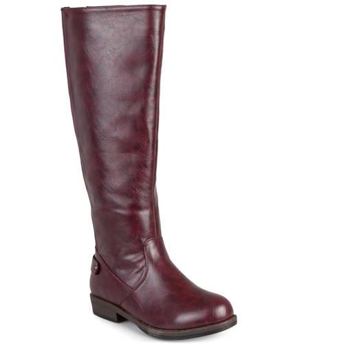 brinley co womens stretch knee high boot walmart