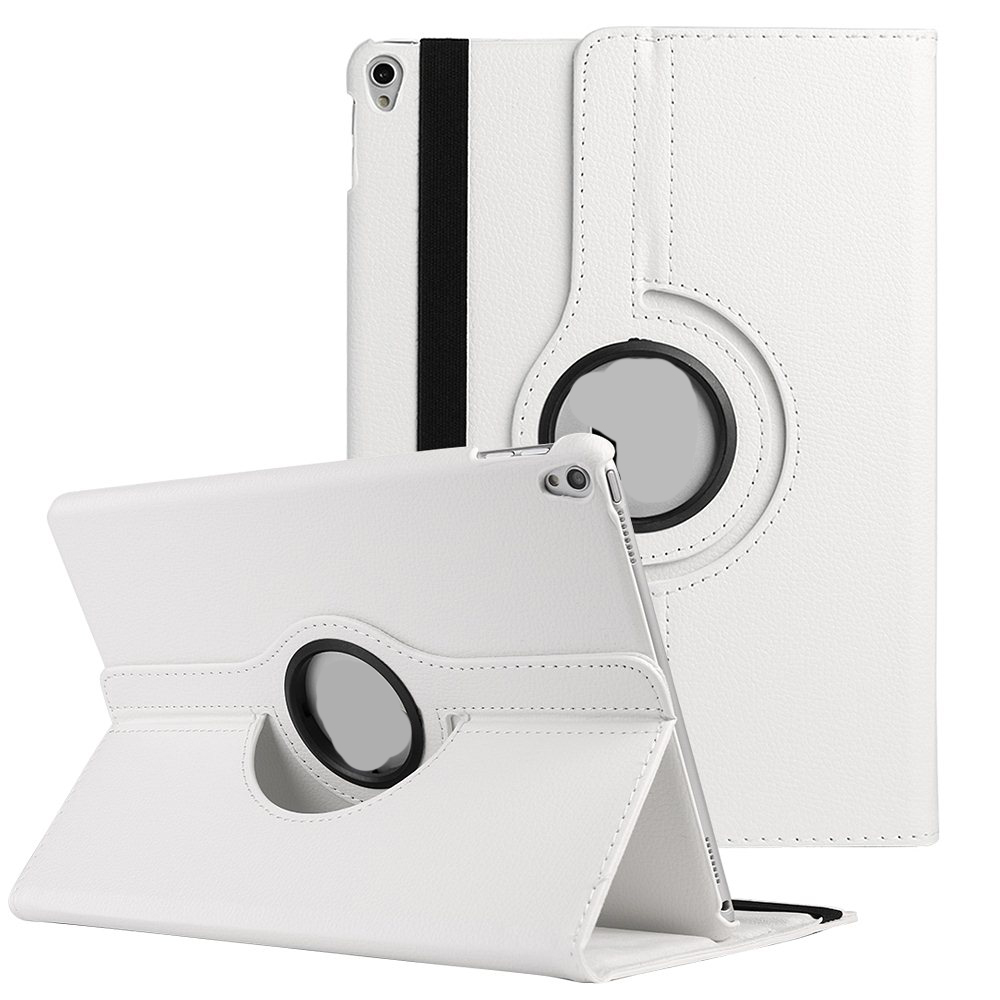 SUMACLIFE Protective Leatherette Rotating Portfolio Case for Apple iPad Pro 10.5 Model (Exact Perfect Fit)