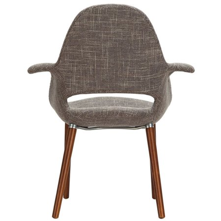 LexMod Veer Taupe Accent Chair - image 3 of 4