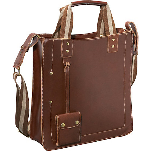 AmeriLeather Legacy Leather Magazine Tote